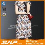 Женщины замыкают накоротко платье/юбку втулки с поясом шкафута