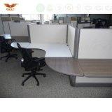 Partition modulaire de bureau de structure de panneau de tissu de poste de travail pour des meubles de bureau