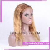 처리되지 않은 Remy 사람의 모발 가발 100%년 Virgin 브라질 머리 레이스 가발
