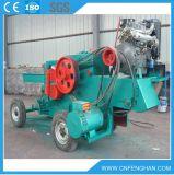 Raspadora de madeira móvel do motor Ly-316 Diesel