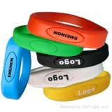 PVC Bracelet USB Flash Drive Wristband Flash Memory Bracelet USB Flash Disk (UV03)