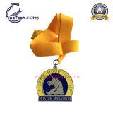Medalha personalizada de fornecimento de fábrica de 10 anos, Paypal, no MOQ, Design gratuito de obras de arte