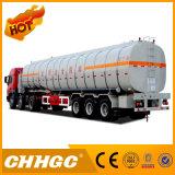 3つの車軸頑丈な化学液体の輸送タンクトレーラー