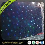 RGBW 4*6m LEDの星の布