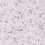Кристаллический белый искусственний кварц для стены