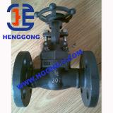 API/DIN forjou a válvula de porta do aço inoxidável da flange