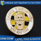 Distintivo su ordinazione promozionale di Pin del risvolto del metallo della fabbrica con la protezione della farfalla