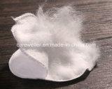 Runde kosmetische Baumwolauflage für Haut-Sorgfalt