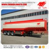 Полный вес 40 тонн смазывая трейлер нефтяного танкера Semi для сбывания