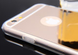 iPhone 6 6s 미러 상자를 위한 신제품 Ultra-Thin 전기도금을 하는 연약한 TPU 세포 또는 이동 전화 덮개