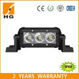 4.3 '' 9W CREE DEL bon marché outre de route barre simple d'éclairage LED de rangée de 12 volts