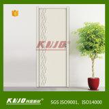 Eco-Friendly дверь прокатанная WPC для туалета спальни (YM-020)