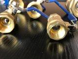 Vávula de bola de cobre amarillo del mejor Ce de calidad superior del precio con Niza precio