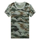 T-shirt de militaires d'impression de Digtal des hommes en gros