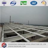 Salle de conférences préfabriquée de structure métallique de grande envergure