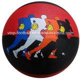 رسميّة حجم ضعف لون مطاط كرة سلّة