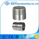 ASTM/DINのステンレス鋼NPTの糸の管のニップル