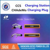 Stazioni di carico di EV con Chademo ed il connettore di CCS