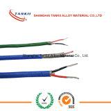 Fio da compensação do par termoeléctrico de /cable do fio do TC com isolação (tipo K)