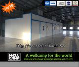 Edificio de acero movible y portable para la oficina de los trabajadores