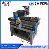 Mini machine de découpage de publicité de couteau de commande numérique par ordinateur pour la carte/PVC/aluminium