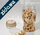 O animal de estimação fácil plástico da extremidade aberta pode para a bebida secada do alimento