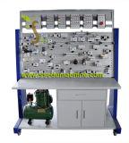Equipamento educacional da formação vocacional do equipamento da eletro bancada pneumática pneumática do instrutor