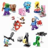 Minifigures Minecraft Abbildung Spielzeug blockt Sy608