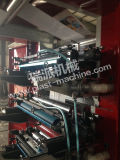 Vitesse 6 Color Flexo Printing Machine avec Advanced Quality