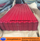 Pre-Painted Corrugated гальванизированная плитка крыши металла