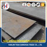 Горячекатаная сталь, высокая плита марганца A128 стальная