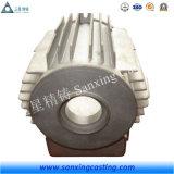 Рамка мотора отливки песка OEM с картиной