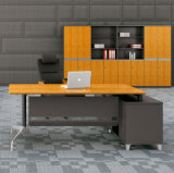 Mobília de escritório executivo moderna do painel de bambu contínuo da grão certificada pelo Fsc certificado