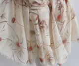 Écharpe de toile d'automne de ressort d'ouate en soie de mode