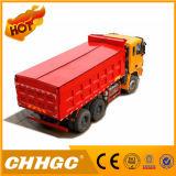 Chhgc 6*4 intelligenter Lastkraftwagen mit Kippvorrichtung mit Deckel