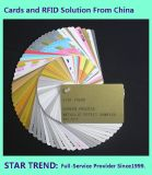 Carte de cadeau/carte magnétique/carte de code barres en Chine