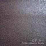 Poliestere della pelle scamosciata della tappezzeria che bronza il tessuto di Nubuck per il sofà