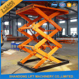 1t-30t Warehouse Scissor Cargo Lift Hydraulic Cargo Elevator für Warehouse