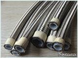 Boyau tressé d'acier inoxydable de qualité de boyau de teflon R14 de SAE 100