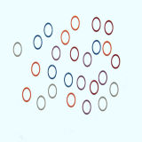 Different Color Rubber Viton O Ring / FKM70 O-Ring in Seal