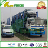 6-10 Aanhangwagen van de Autotransportwagen van de Carrier van de Vrachtwagen van de Lading SUV de Semi