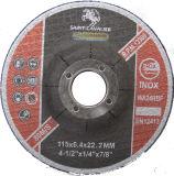 T27 Depressed Center Grinding Disc für Metal 41/2 '' x1/4 '' x7/8 ''
