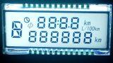 온도 조절기를 위한 alphanumeric LCD 디스플레이