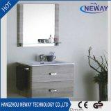 Vanité chinoise moderne de salle de bains de mélamine fixée au mur simple