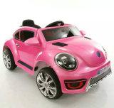 O carro elétrico dos miúdos, Montar-no carro, brinquedos elétricos, caçoa o carro