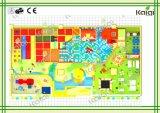 Спортивная площадка конфеты Kaiqi крытая для игры /Kids желтой крытой спортивной площадки сбывания/конфеты мягкой/крытой спортивной площадки