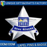 Fatto nei grossisti della Cina ha personalizzato il nastro Pins&Badges