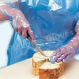 Рельефный ПНД Одноразовые перчатки (HDGL-CL0.6)