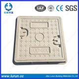 C250 공도 사용 D600 사각 둥근 덮개를 가진 맨홀 뚜껑
