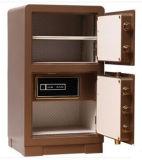 Caja fuerte de acero grande del hogar y del hotel con la alta calidad (puerta doble)